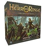Asmodee El Señor de los Anillos: Viaje por la Tierra Mediana, Juego básico, Dungeon Crawler, Alemán