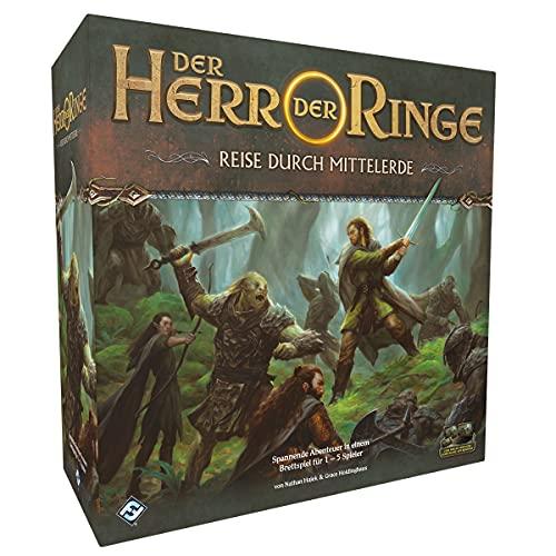 Asmodee Herr der Ringe: Reise durch Mittelerde, Grundspiel, Dungeon Crawler, Deutsch