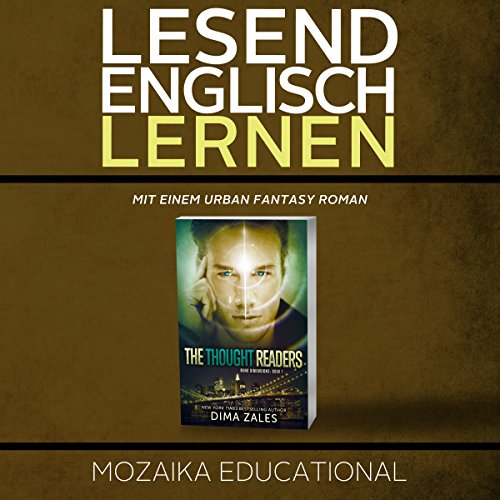 Englisch Lernen: Mit einem Urban Fantasy Roman [Learn English for German Speakers - Urban Fantasy Novel, Edition 1] audiobook cover art