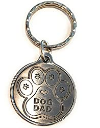 Father's day gifts for dog dads definitely include this cute key chain.