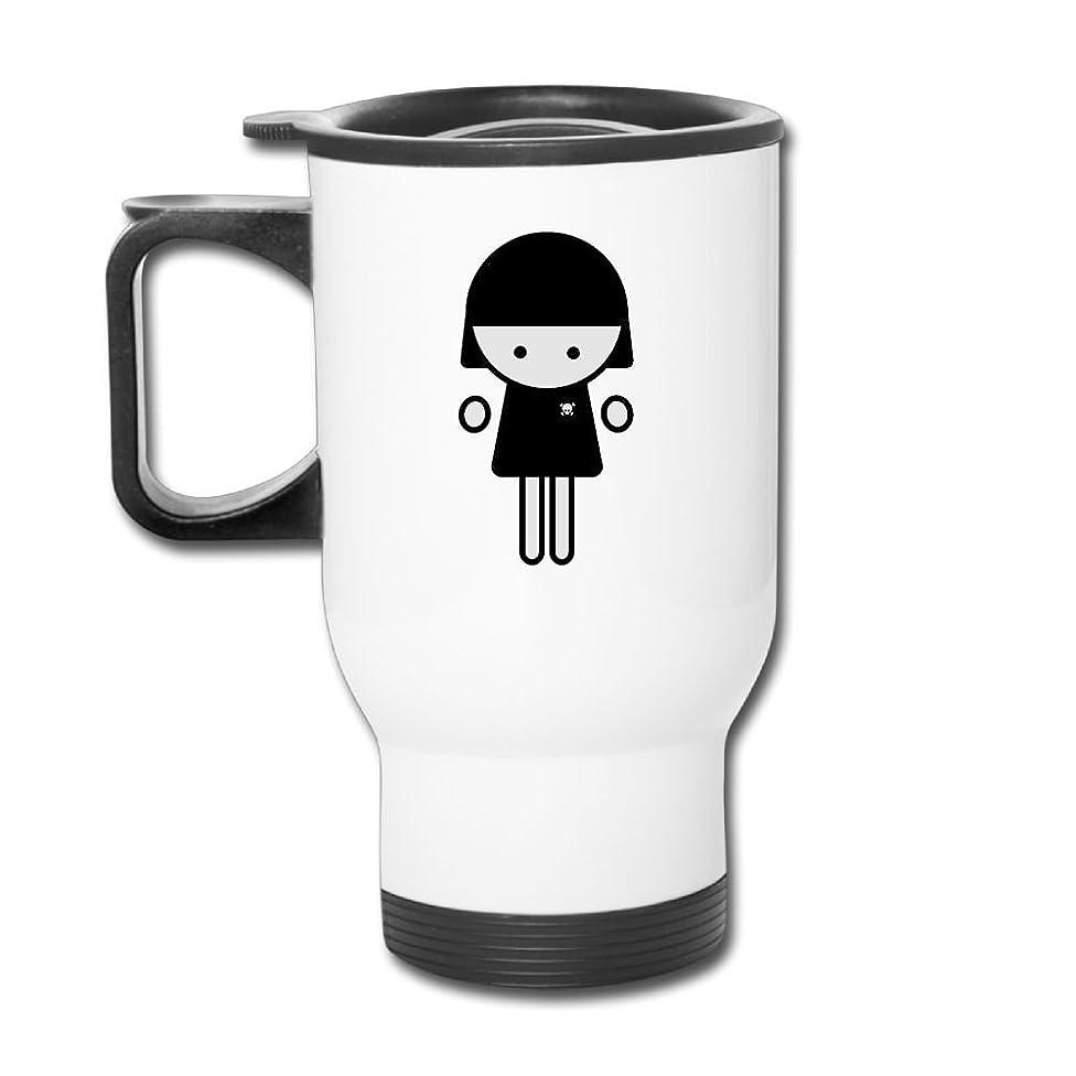 Figure Marvett Emotional Emo Personalized Print Travel Mug Stainless Steel 14 OZ Coffee Mug