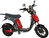GigaByke V2 Groove 2.0-750W Electric Motorized Bike (Red)