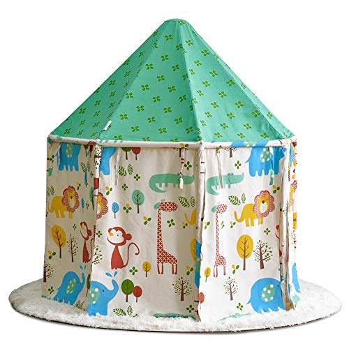 New Mogicry Green Child Toy Room Game House Teepee Entertainment Play Child Yurt House Princess Tent...