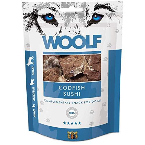 WOOLF Sushi 100gr Cod - Snacks pour chien