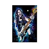 GSSL Musikposter Sänger Heavy Metal Art Steve Harris Iron