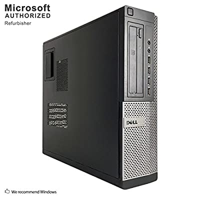 Dell Optiplex 9010 Premium Desktop Computer (Intel Quad-Core i7 3.4GHz 16GB RAM, 1TB SSD, DVD, VGA, DisplayPort, WiFi, HDMI Windows 10 Pro) (Renewed)
