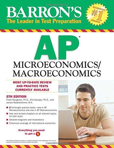 Barrons Ap Microeconomics Macroeconomics 5th Edition