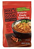 Mike's Mighty Good Craft Ramen Vegetarian Kimchi Soup, 2.3 Ounce Pillow Pack (7 Count) Non-GMO, Made...