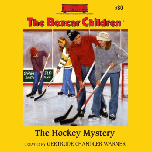 The Hockey Mystery audiobook cover art