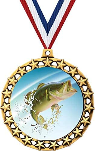 Fishing Medal 2 Large discharge sale 1 2