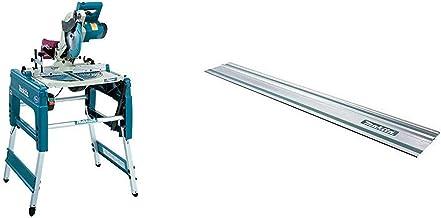Makita LF1000 - Sierra Reversible 1650W 2700 Rpm Disco 260 Mm 33 Kg + Makita 194368-5 - Guía de carril 1.4m