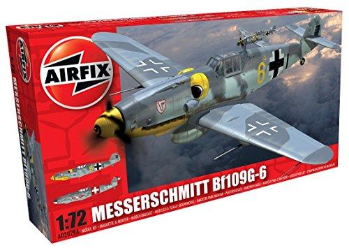 Airfix A02029A 1/72 Messerschmitt Bf109G-6 Modellbausatz