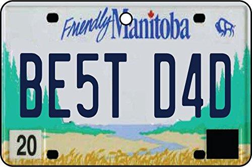 Ali Air Freshener Manitoba - Best Dad Nummernschild Auto Lufterfrischer