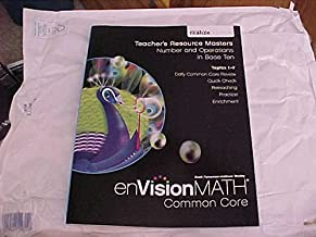 eVision Math Common Core Grade 5 Teacher's Resource Masters Number and Operations in Base Ten Topics 1-7 realize Edition