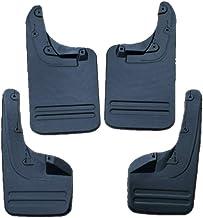 4 piezas de aleta de barro para el automóvil, guardabarros universal contra salpicaduras kit delantero/trasero guardabarros para 2018 Toyota VIGO 2WD / 4WD,ToyotaVIGO4WDLengthen