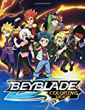Beyblade Coloring Book: 40 Coloring Pages Featuring Your Favorite Beyblade Characters
