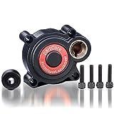 partCore Rotorstart Backplate Elektrostarter Motorumbauplatte Rechts Force Motoren -