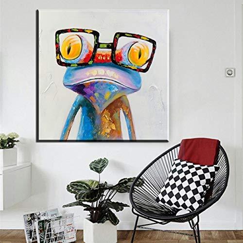 zangtang Vogel abstract kleurrijk modern schilderij voor kunstwerken van de decoratie
