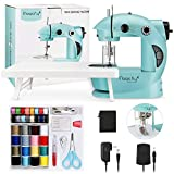 Magicfly Mini Sewing Machine with Extension Table, Dual Speed Portable Sewing...