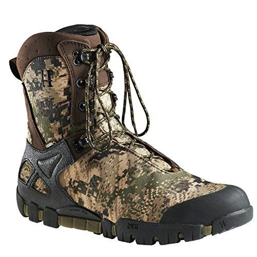 Botas de caza para hombre Vulpes GTX® 9' con forro Gore-Tex® y refuerzo en camuflaje, color Multicolor, talla 40 EU