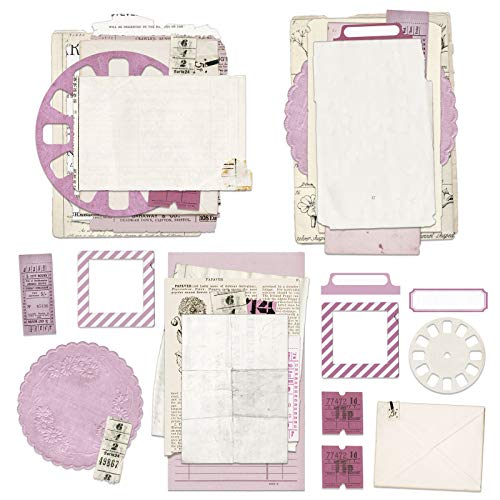 Vintage Artistry Lilac Collage Stack-