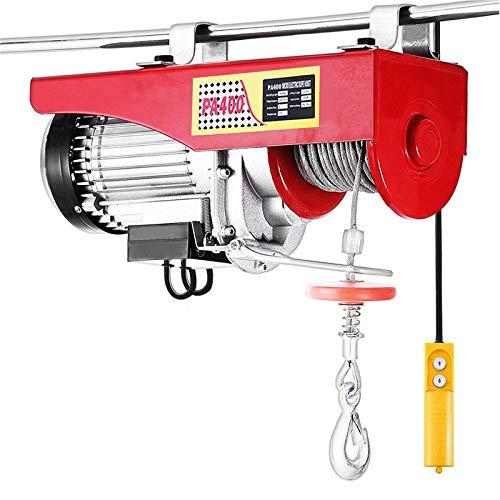 Turefans polipasto electrico, montacarga eléctrico, polipasto(850W,200/400KG)
