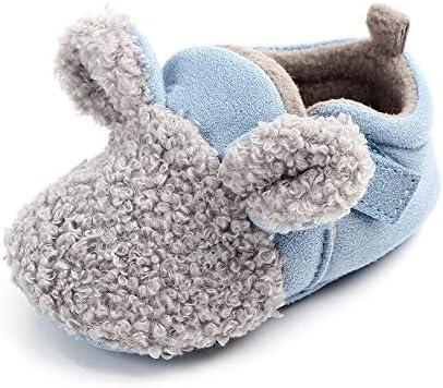 Baby schoenen antislip slippers jongens meisjes schattige zachte zool winter booties pasgeboren eerste wandelaars schoenen 06 maanden blauw