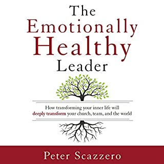The Emotionally Healthy Leader audiobook cover art
