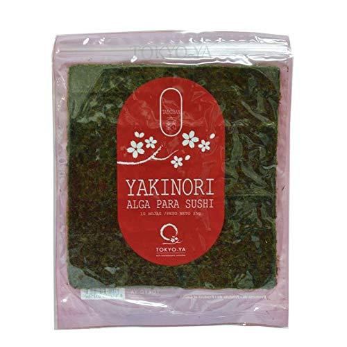 Alga Nori para hacer sushi - 10 hojas
