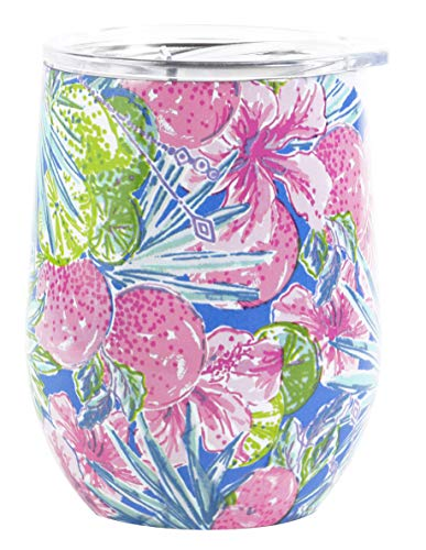Lilly Pulitzer Insulated Stemless Tumbler Swizzle In One Size