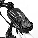 UBORSE Bolsa de Cuadro de Bicicleta Bolsa de Tubo Superior Delantera Impermeable para Bicicleta Bolsa de Almacenamiento de Bicicletas para Bicicleta MTB