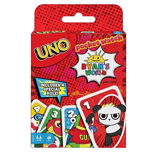 Mattel Games UNO Pocket Watch Ryan