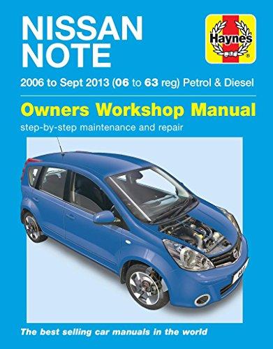 Nissan Note Petrol & Diesel (06 - Sept 13) 06 to 63 Haynes R