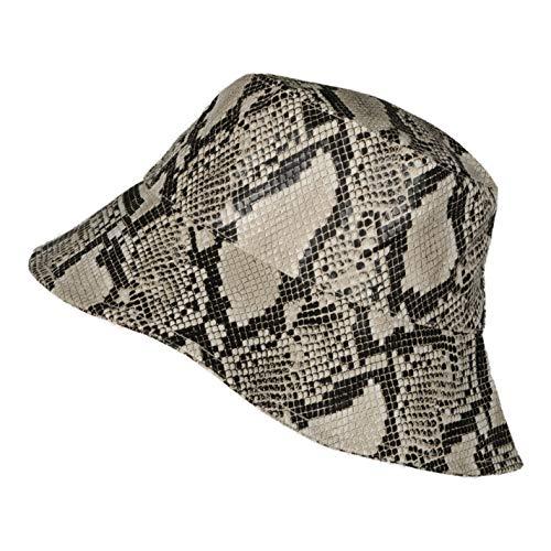 TOUTACOO, Cappello da Pioggia, Cappellino da Donna,Berretto Antipioggia, cap, Stampa Pitone (Cappello)