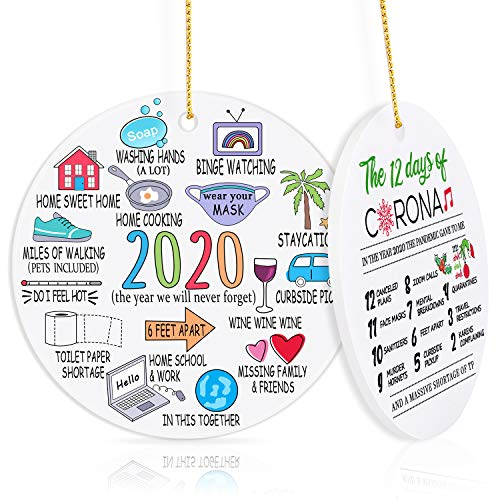 biondo beverly hills 2020 Christmas Ornament Quarantine, Christmas Ornaments Christmas Decorations Clearance 2020 Ornament - Gifts for Christmas