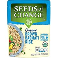 12-Pack Seeds of Change Organic Brown Basmati Rice Microwave Pouch