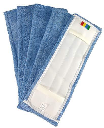 1a Profiline microvezel mop microvezel mop blue-line vloerwisser vervanging overtrek mop overtrek mop 40 cm (5 stuks)