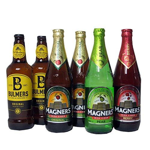 Irischer Cider Six-Pack mit Bulmers und Magners