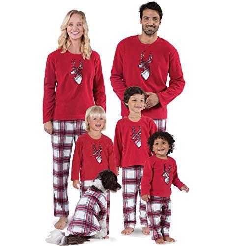 OuLi Store Familia Matching Pijamas Familia de Navidad Pijamas Pijamas Set para la Madre/Padre/niño/bebé Pijamas de Navidad