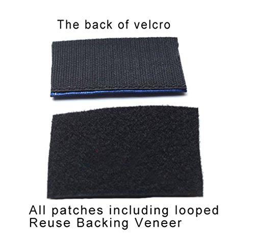 Military Patches Compatible USMC Semper Fi Tactical Uniform Military Embroidered Applique 5 PCS
