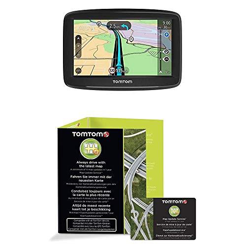TomTom Start 52 Navigatore Satellitare per Auto, Mappe Europa 23 Paesi, Display da 5 Pollici, Indicatore di Corsia, Aggiornamenti Software Inclusi con Scratch Card Tutor e Autovelox 12 Mesi