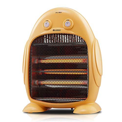hanzeni Mini Calefactor,Calefactor Eléctrico 400W/ 800W con Protección contra Volcado Y Sobrecalentamiento para Cuarto Baño Oficina Estufa De Cuarzo