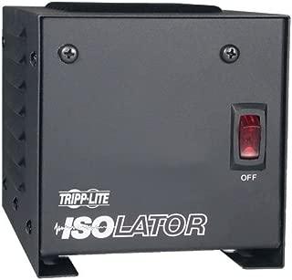 Tripp Lite IS250 Isolation Transformer 250W Surge 120V 2 Outlet 6 feet Cord TAA GSA