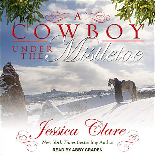 A Cowboy Under the Mistletoe audiobook cover art