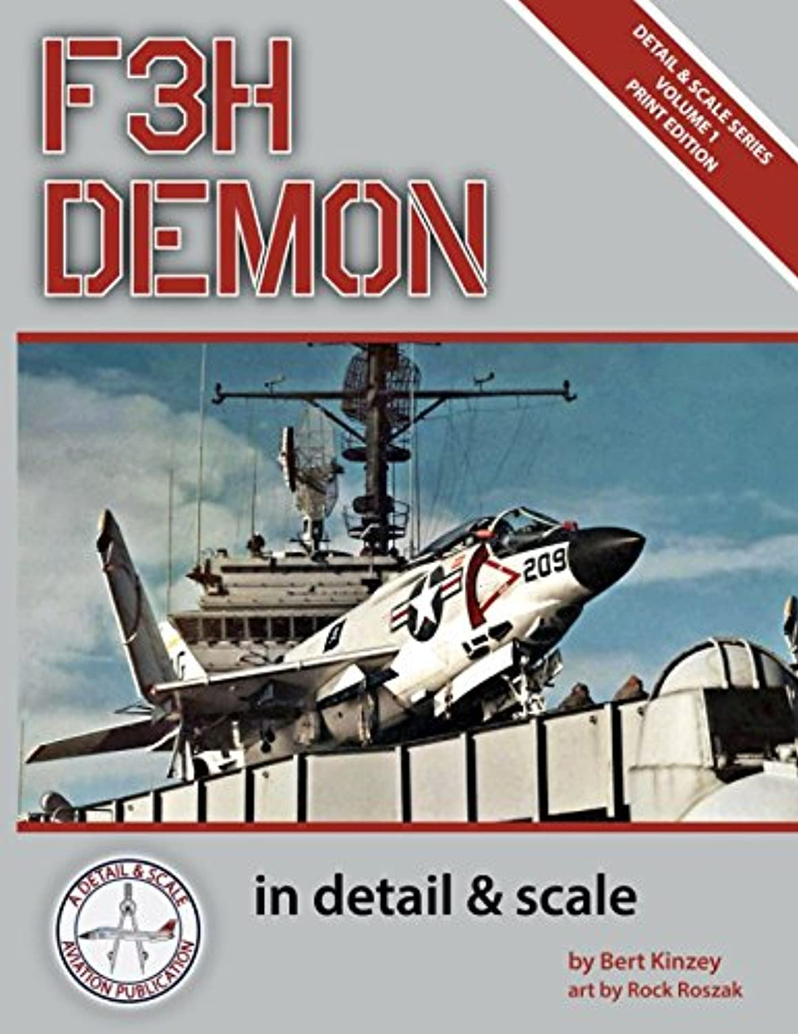 ブレスゴネリル明確なF3H Demon in Detail & Scale (Detail & Scale Series)
