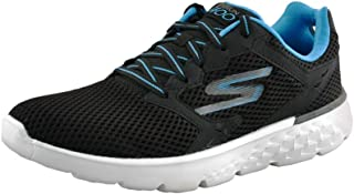 Skechers Men's Go Run 400 Black/Blue Running Shoes (54350-BKBL)