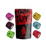 Photo Gallery ronintape® katana - pack 6 tape - tape per crossfit , hookgrip , sbarra , bilanciere - elastico e colla
