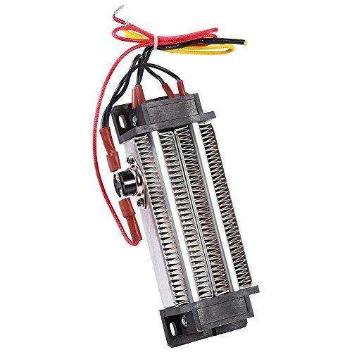 AC 220V 500W Caja Fuerte de Aluminio Calentador de cerámica eléctrica Umidificador...