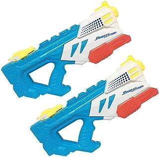 Water Blaster,Hamkaw Foam 1000CC Squirt Gun High Pressure 32FT Long Range Water Guns Bath Pistol Toys Soaker Summer Outdoor Pool Beach Water Shooter Toys for Kids Toddlers Boys Girls Adults