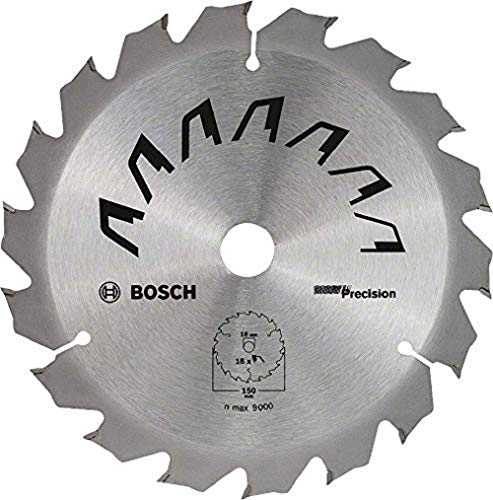 Bosch Professional 2609256D62 Bosch Hoja (Madera, diámetro Exterior: 150 mm, Orificio: 16 mm, Accesorio para Sierras Circulares de Mano)